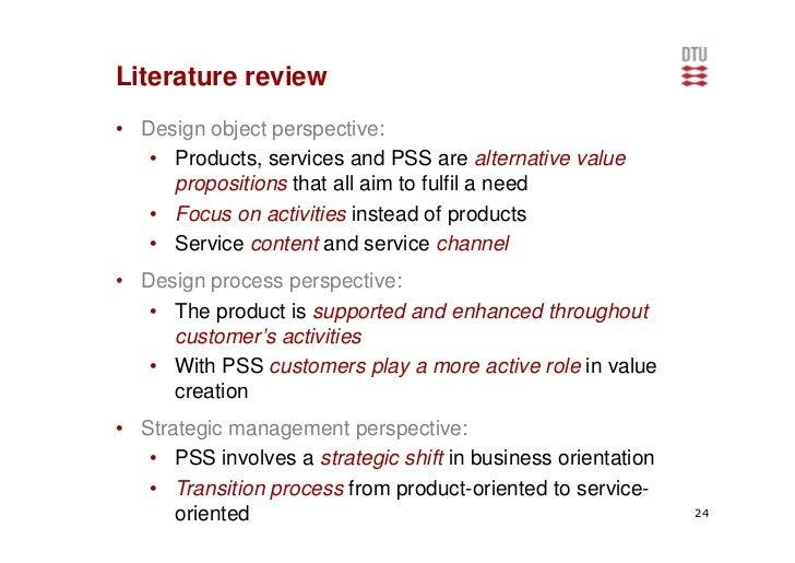 Literature review service oriented architecture