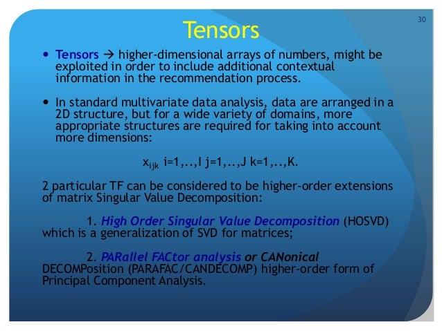 Higher order singular value decomposition pdf995