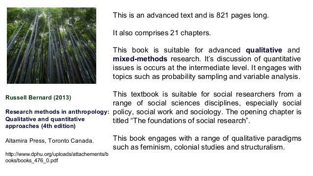 social research methods quantitative and qualitative approaches pdf