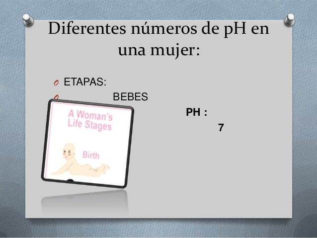 O pubertad: O Ph: O 3,8 a 4,2