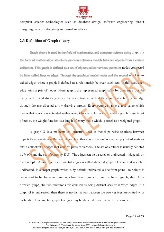 Thesis template engineering