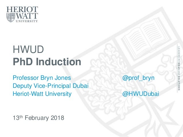 phd thesis submission heriot watt