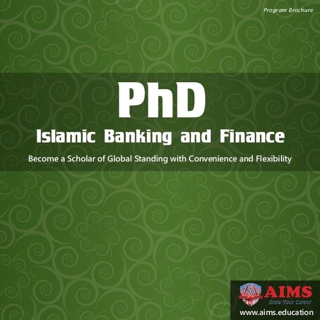 Phd dissertation islamic finance