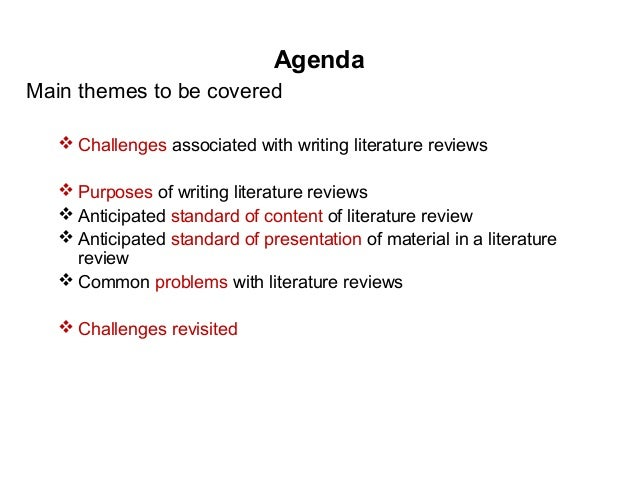 review article types components