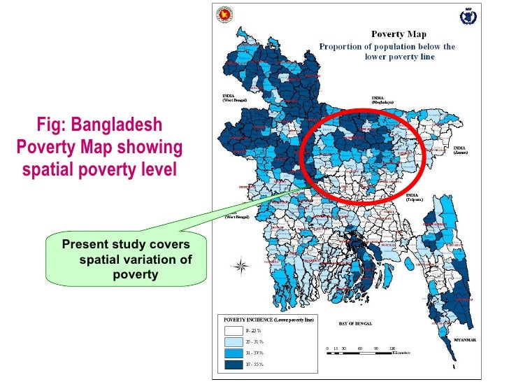 The microfinance initiatives for poverty alleviation rhetoric and re measurement in bangladesh 25 fig bangladesh poverty map gumiabroncs Image collections