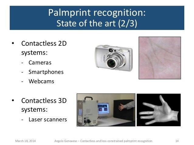 palm print recognition