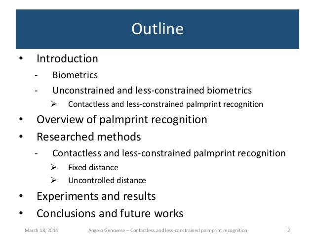 phd. thesis on multimodal biometrics Multimodal biometrics phd thesis format feature level fusion of multimodal biometrics and twoatm system with multimodal biometrics along with email verification.