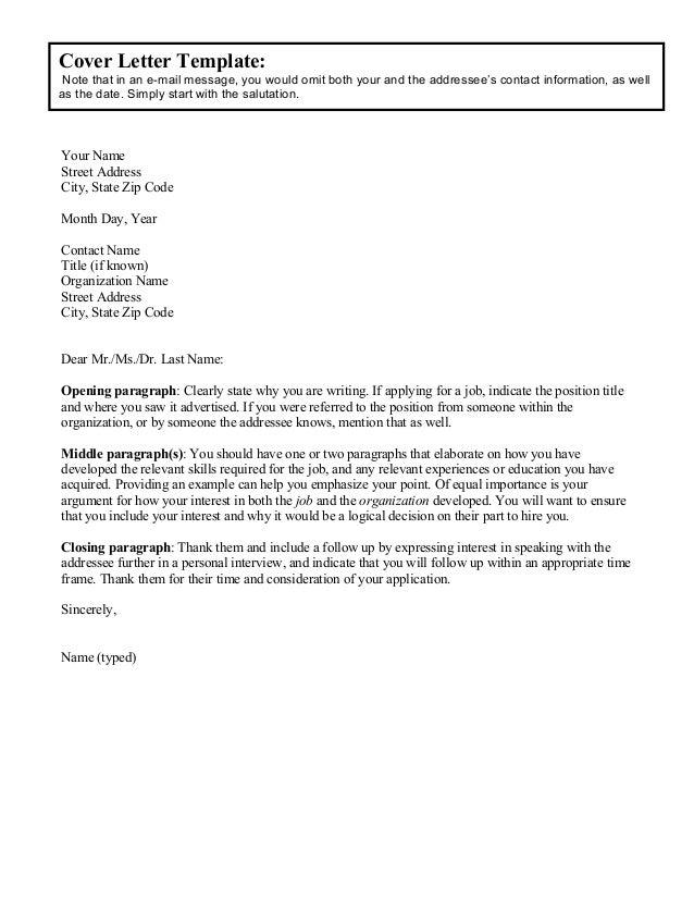 Sample PhD Cover Letter | Sample Letters