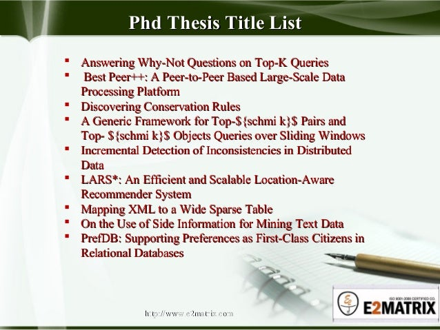 Phd thesis uk