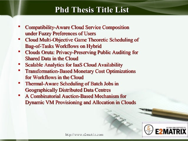 Dissertation prep services