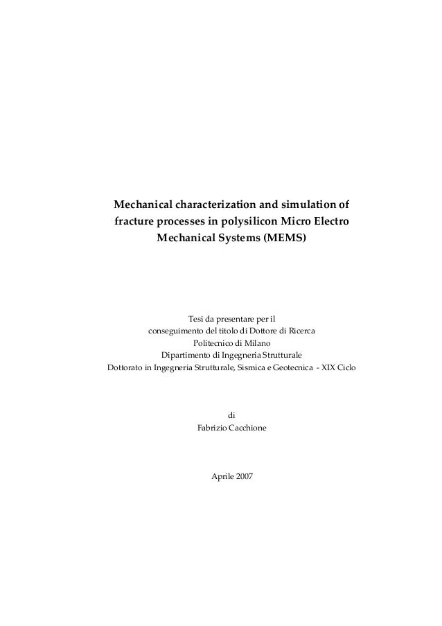Phd thesis on simulation