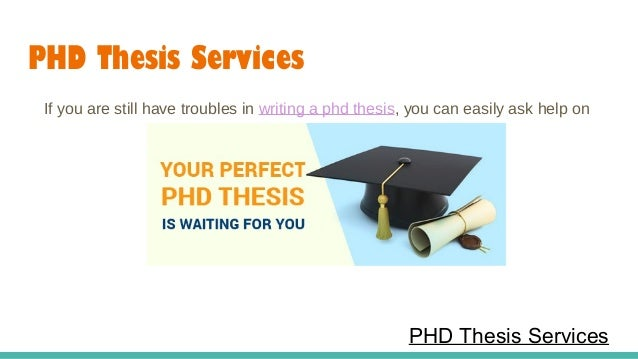 Thesis services loans