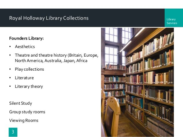 Rhul Library Rooms
