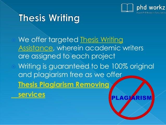 Thesis assistance writing economics