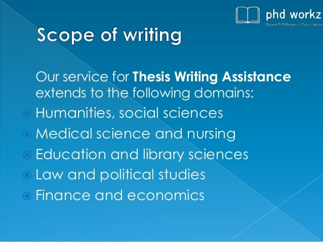 Help to write phd thesis