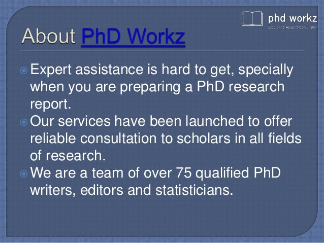 Phd thesis consultants in india