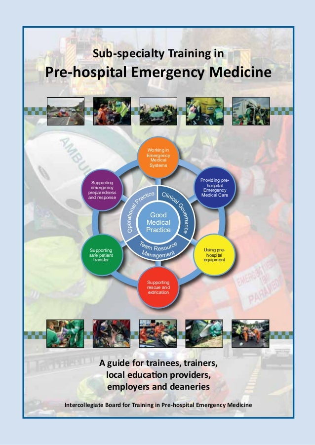 Phem Pre Hospital Emergency Medicine Guidelines For Trainers