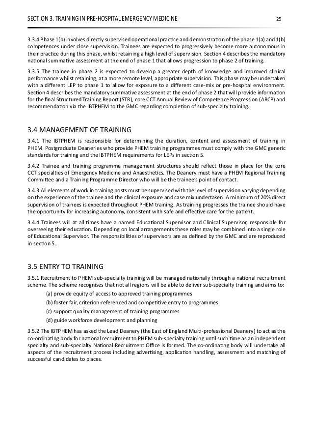 PHEM - Pre Hospital Emergency Medicine Guidelines for Trainers