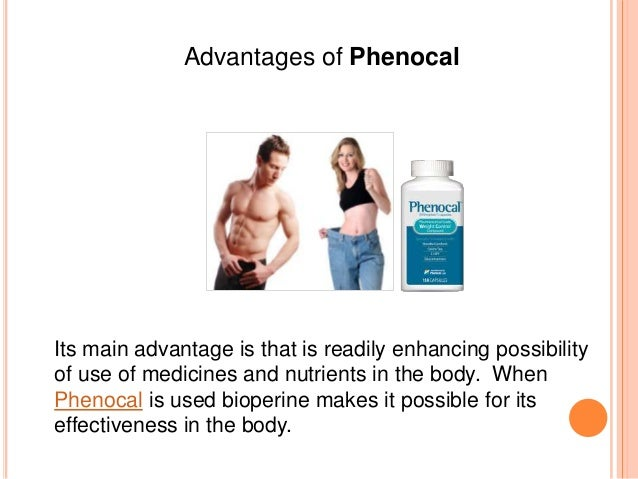 How effective is Phenocal Slide 3