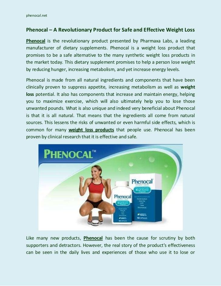 Phenocal Weight Loss Pills