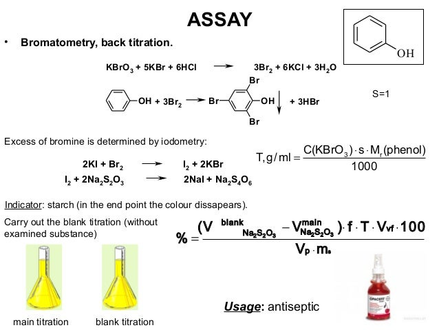 assay of aspirin by back titration