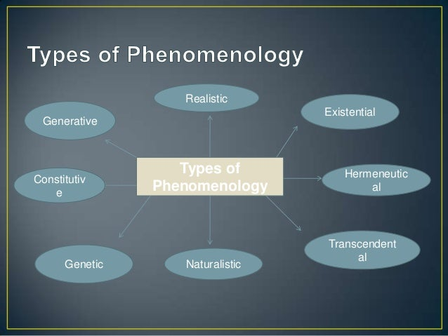 2. The Discipline of Phenomenology