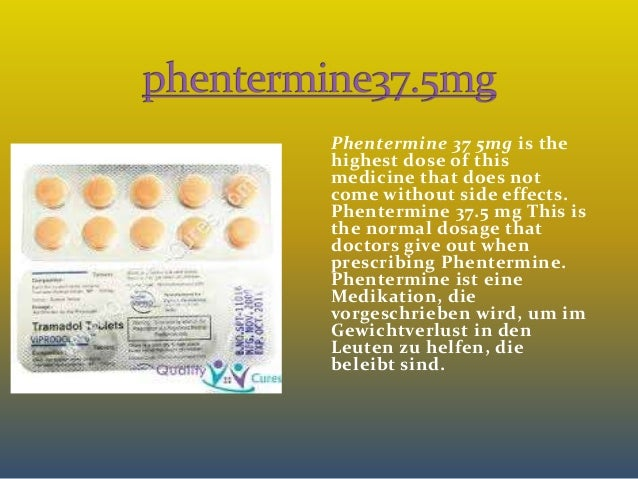 phentermine 37.5mg side effects headache in back