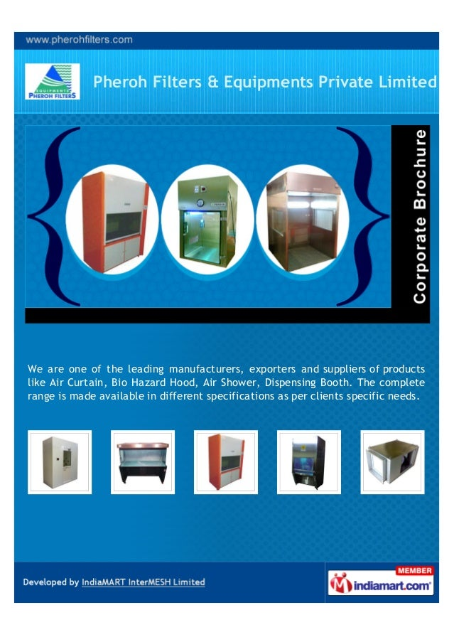 Pheroh Filters & Equipments Private LimitedWe are one of the leading manufacturers, exporters and suppliers of productslik...