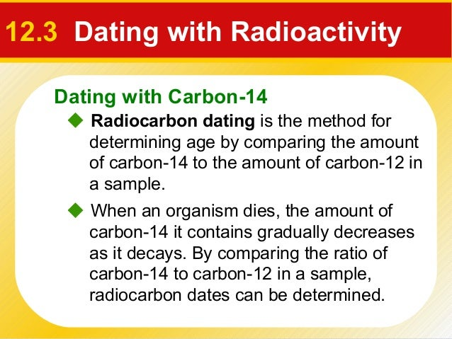 what is the role of isotopes in radiometric dating Radiometric dating is very reliable in theory - the decay of radioactive materials is very-very predictable but like any other bit of experimental physics the difference between practice and theory is small in theory but large in practice.