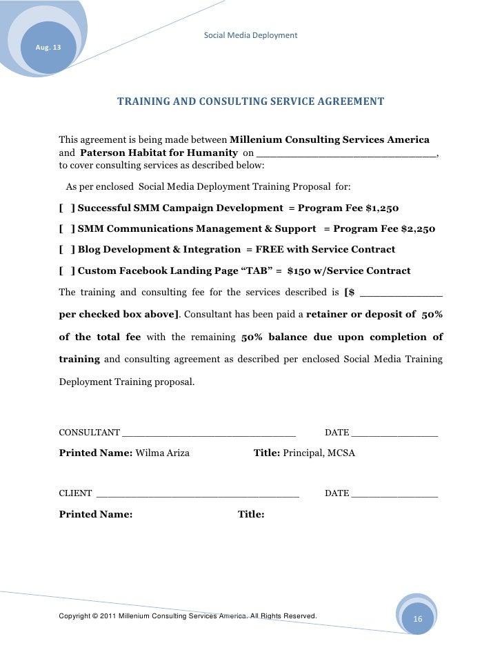 PHFH Social Media Deployment Proposal