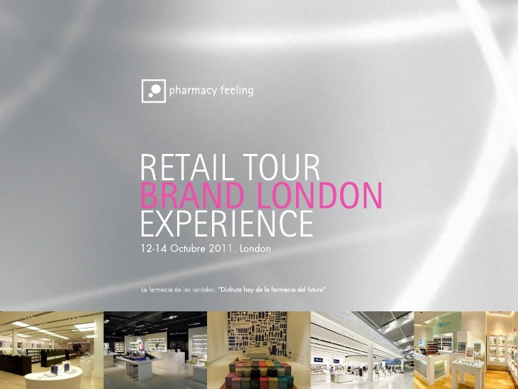 PharmacyFeeling #PHF en su primer Retail Tour en Londres Octubre 2011