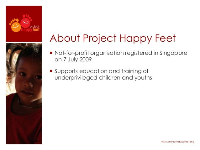 How Corporates can get involved with Project Happy Feet Slipper Race Slide 2