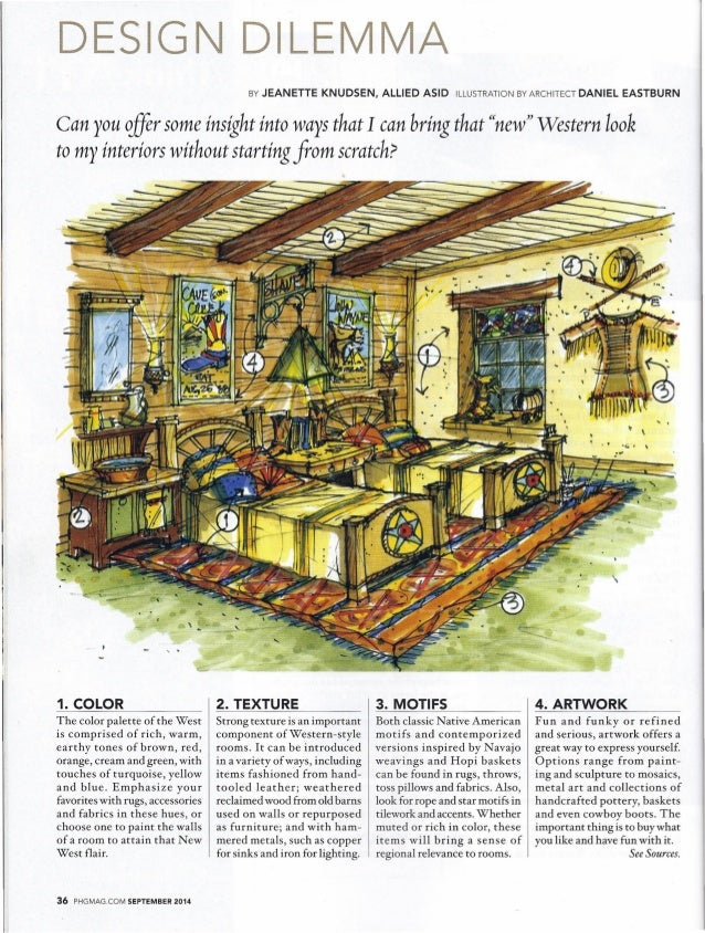 DESIGN DILEMMA  BY JEANETTE KNUDSEN, ALLIED ASID ILLUSTRATION BY ARCHITECT DANIEL EASTBURN  Can you c1fir some insight int...