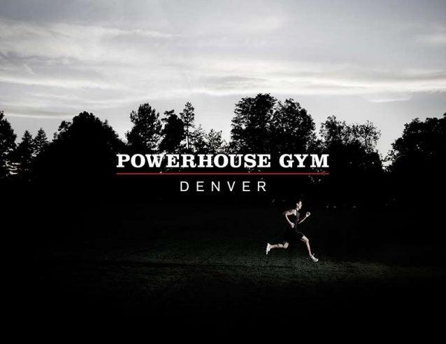 Powerhouse Gym Denver Materials