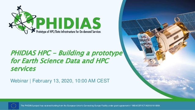 The PHIDIAS project has received funding from the European Union's Connecting Europe Facility under grant agreement n° INE...