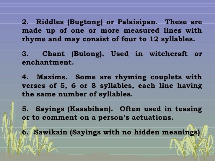 salawikain meaning Mga halimbawa ng salawikain examples of filipino proverbs in tagalog difference from sawikain ang pagkakaiba sa sawikain saliwikain.