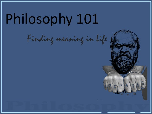 how to pass philosophy 101