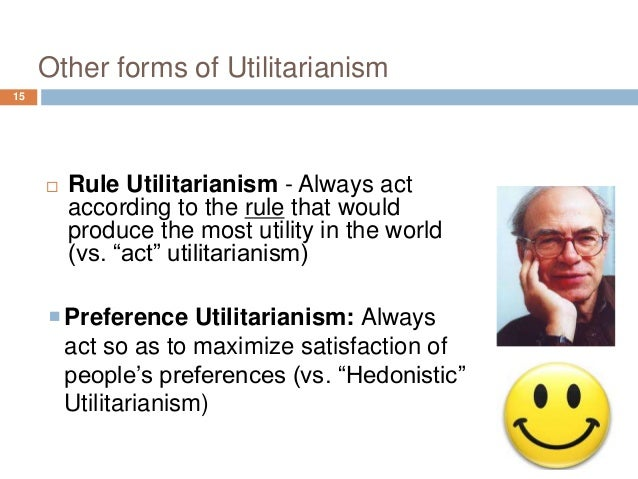 act utilitarianism versus rule utilitarianism in philosophy Philosophy: philosophy this is a difference compared to act-utilitarianism the rule-utilitarian is thinking in a more long-term way than the act-utilitarian.