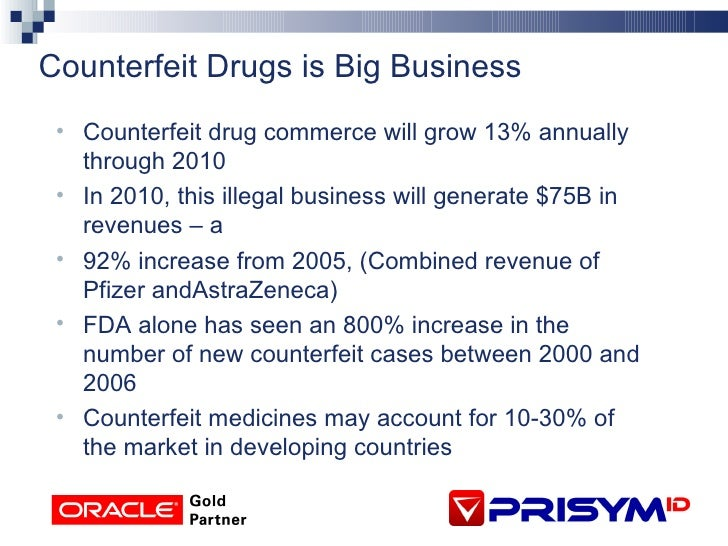 "counterfeit and spurious drugs big challenges A big share of the market constitutes the so-called ""lifestyle"" drugs the study found that almost half the counterfeit drugs sold on the internet were for weight loss, followed by influenza."