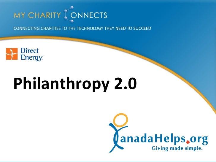 Philanthropy 2.0   28