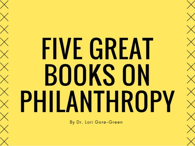5 Great Books on Philanthropy