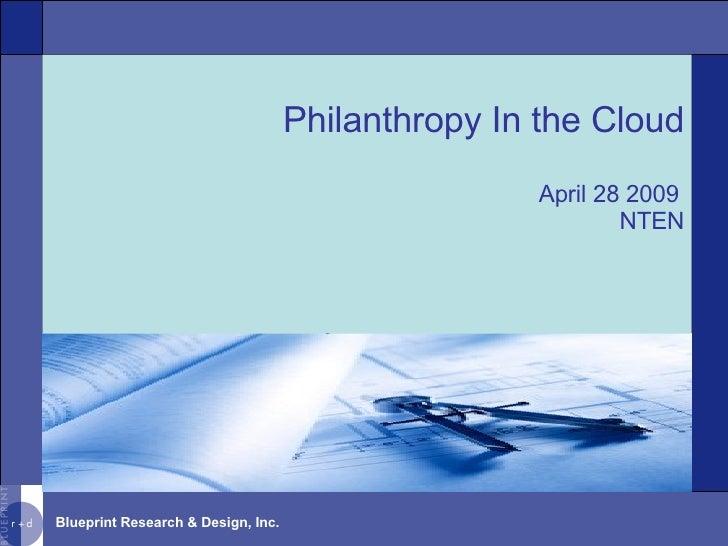 Philanthropy In the Cloud April 28 2009 NTEN