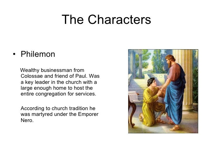 Philemon Forgiveness