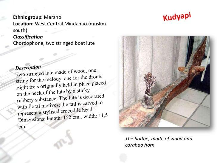 mindanao islamic music instruments