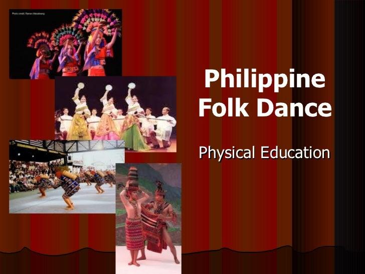 PhilippineFolk DancePhysical Education