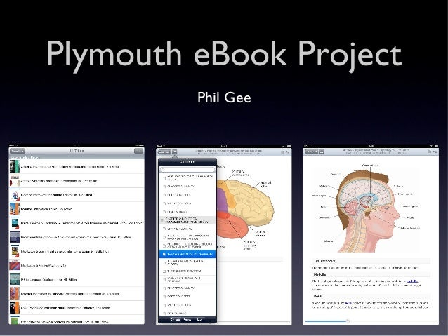 Plymouth eBook Project Phil Gee