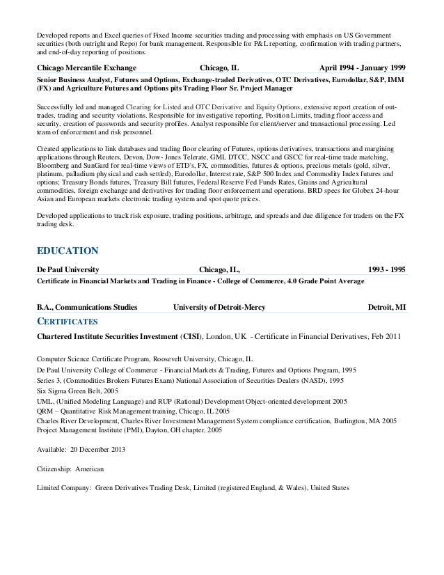 cover letter for bloomberg - philip green cv