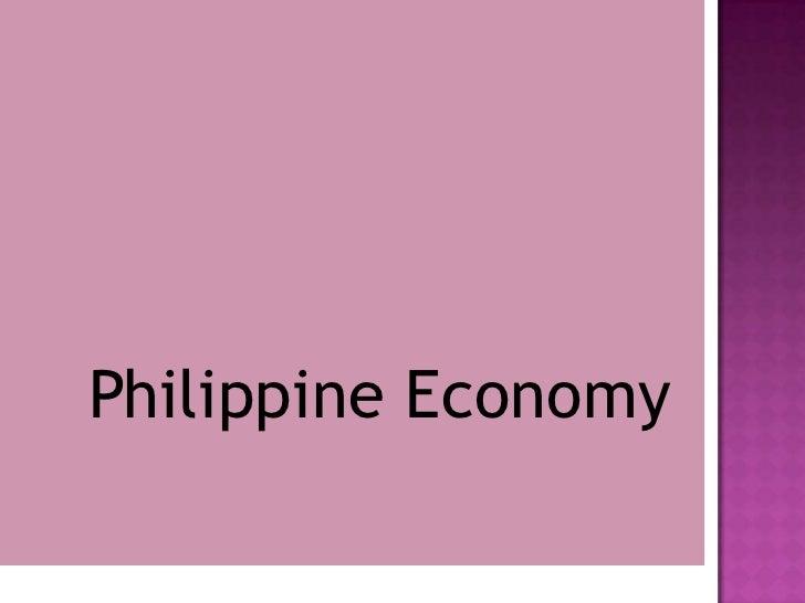 Philippine Economy<br />