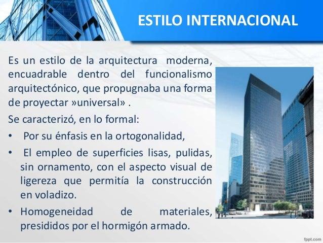 Philip johnson for Definicion de estilo en arquitectura