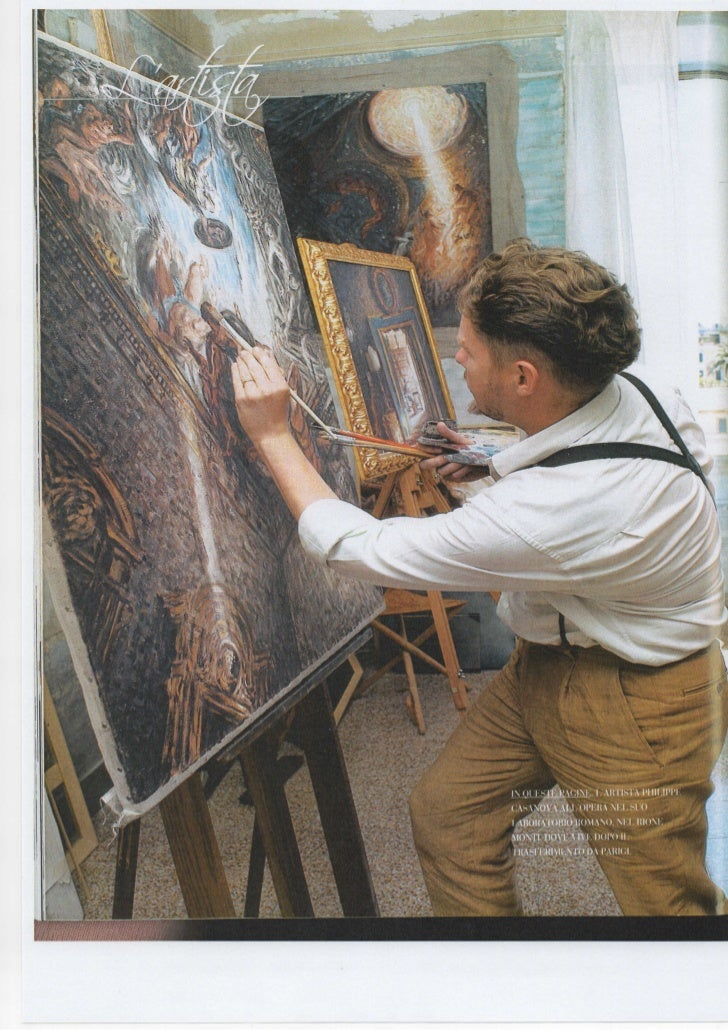 Interview de Philippe Casanova - Peintre baroque